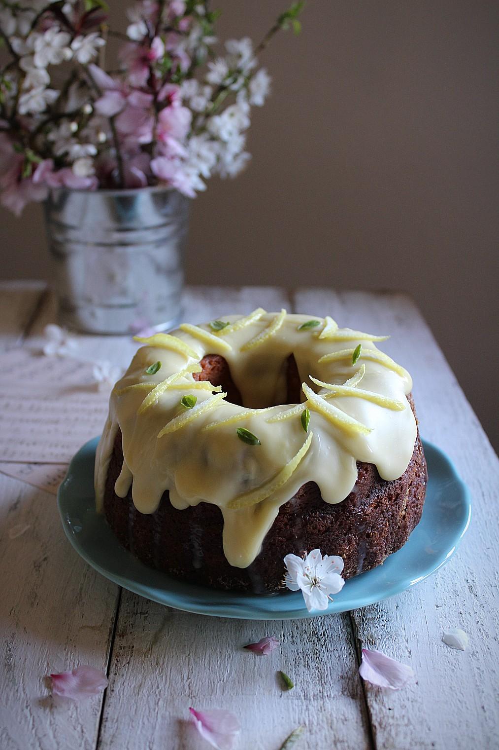 torta alla ricotta e cioccolato bianco
