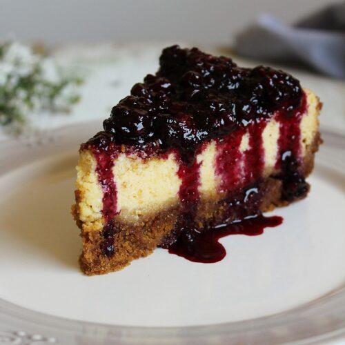 New York cheesecake ai frutti di bosco