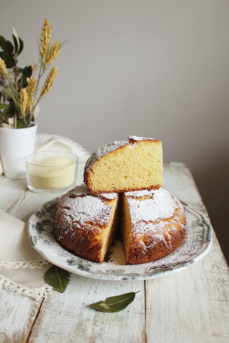 torta al semolino e ricotta